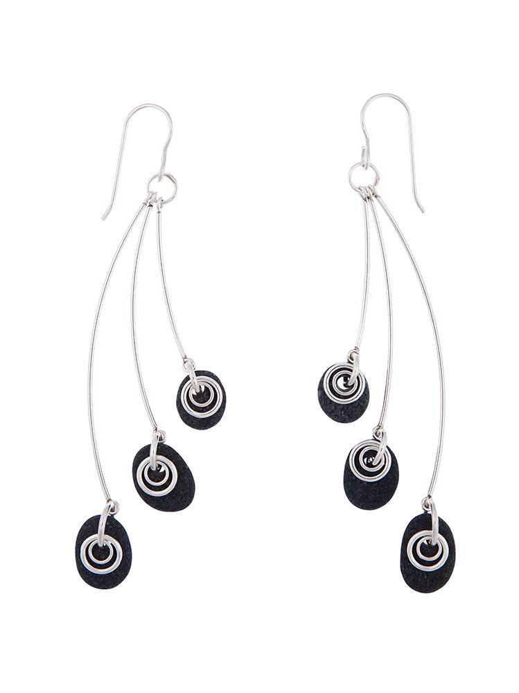 6 Rock Earrings